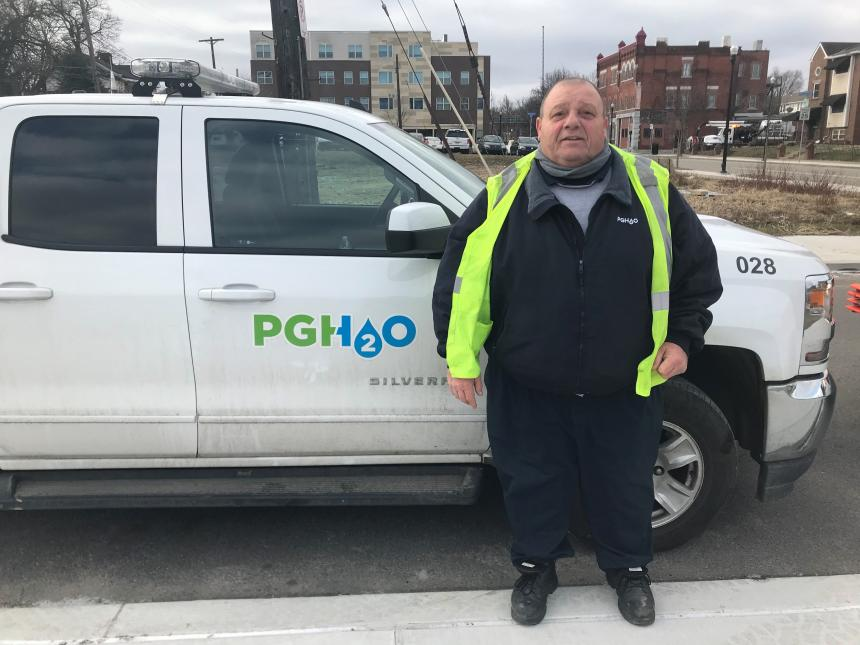 PWSA Sewer Service Foreman Mike Dusch